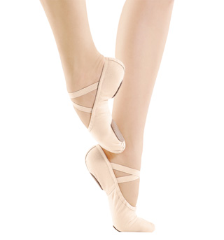Child Canvas Split-Sole Ballet Slippers - Style No SD11C