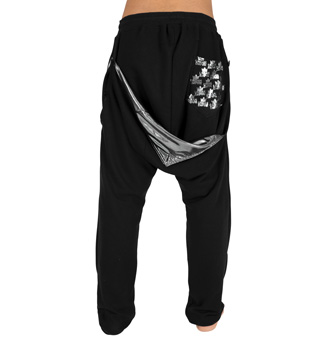 Adult Unisex Signature Back Flap Sweat Pants - Style No SIG