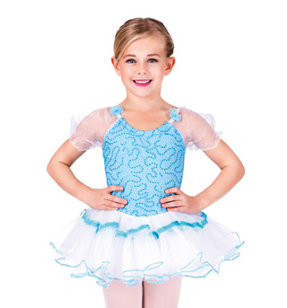 Child Aqua Dancer Dress - Style No SK587x