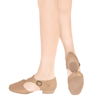 Child Leather Grecian Teaching Sandal - Style No T8900C