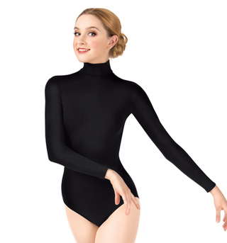 Adult Long Sleeve Turtleneck Leotard - Style No TB41x