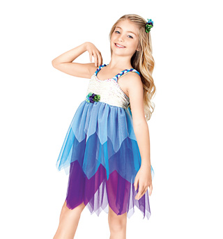 In The Garden Child Lyrical Dress - Style No TH1003C