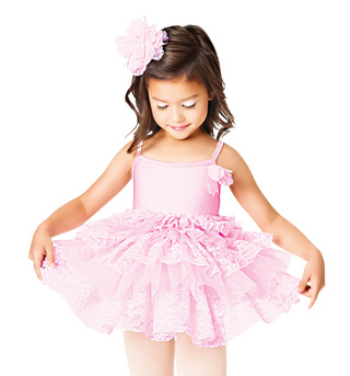 Pretty In Pink Child Tutu Dress - Style No TH1004C