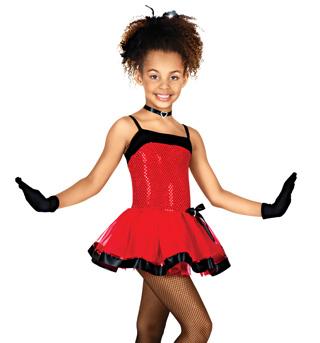 Cabaret Child Camisole Dress - Style No TH2016C