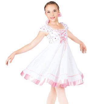 Clara Child Empire Waist Dress - Style No TH4004C