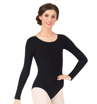 Adult Long Sleeve Cotton Dance Leotard - Style No TH5507