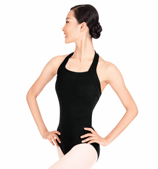 Adult Halter Cotton Dance Leotard - Style No TH5508