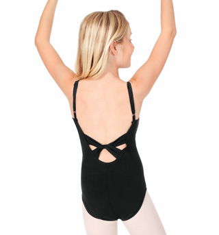 Child Twist Back Camisole Cotton Dance Leotard - Style No TH5509C