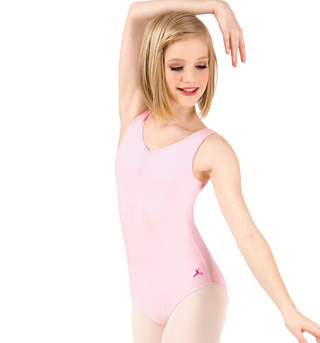 Child and Toddler Future Star Shirred Tank Leotard - Style No U6111CP