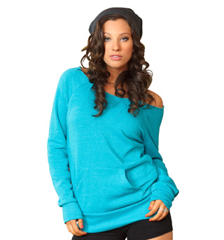 Adult Flash Dance Pocket Sweatshirt - Style No UC1304