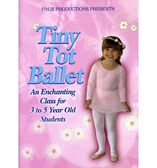 Tiny Tot Ballet DVD - Style No VVPM001