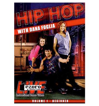 Hip-Hop Volume I with Dana Foglia DVD - Style No VVTZ25HH1