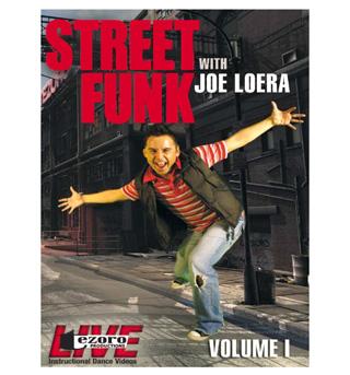 Street Funk Volume I with Joe Loera DVD - Style No VVTZ29SF1
