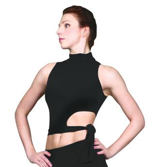 Women Ballroom Sleeveless Top - Style No W5001P