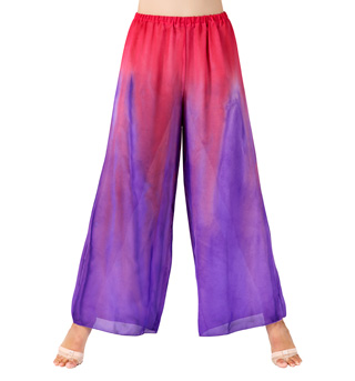Adult Unisex Plus Size Worship Palazzo Pants - Style No WC100P