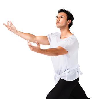 Plus Size White Short Sleeve Worship Tunic - Style No WC102PWHT