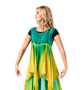 Women's Worship Handkerchief Dress - Style No WC104