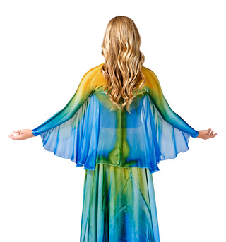 Women's Worship Winged Shrug - Style No WC107