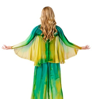 Women's Plus Size Worship Winged Shrug - Style No WC107P