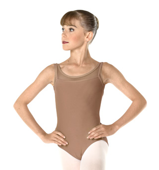 Adult Ribbed Tank Leotard - Style No WM147