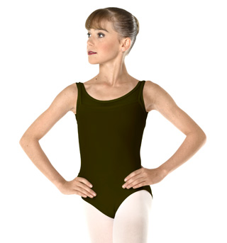 Adult Microfiber Tank Leotard - Style No WM148