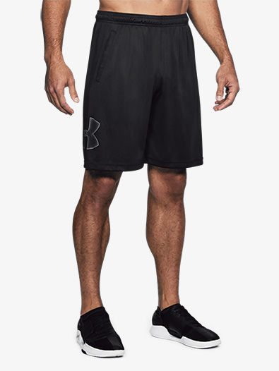 Mens Tech Graphic Workout Shorts - Style No 1306443
