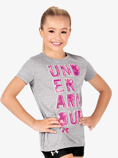 Girls ''Hybrid 2.0'' Active Short Sleeve Top - Style No 1317787