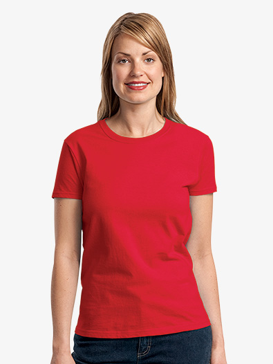 Ladies 100% Cotton T-Shirt - Style No 2000L