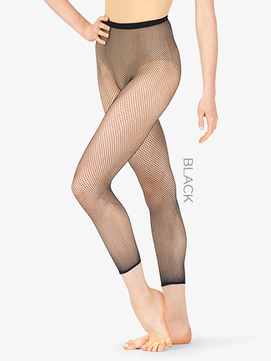 Womens Cropped Fishnet Tights - Style No 3409W