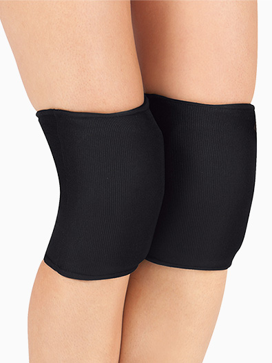 Adult/Child Black Knee or Elbow Pads - Style No 3500