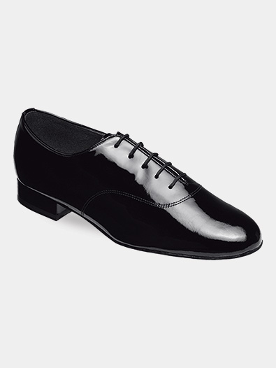 Mens Lace-Up Patent Ballroom Dance Shoes - Style No 5000