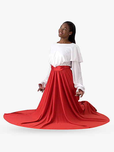 Adult Full Worship Circle Skirt - Style No 502