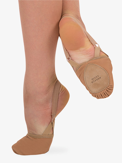 Girls 4-Way Total Stretch Lyrical Half Sole - Style No 622C