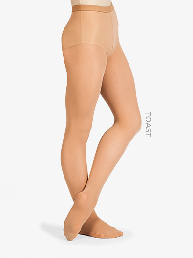 Adult Ultrasoft Microfiber Footed Tights - Style No 72