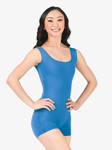 Adult Tank Shorty Unitard - Style No 87120x