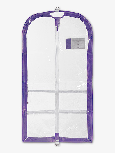 Clear Competition Garment Bag - Style No B596LAV