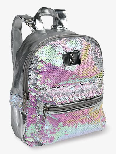 Pearlescent Reversible Sequin Dance Backpack - Style No B835