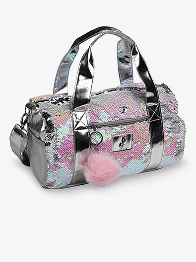 Pearlescent Reversible Sequin Dance Duffle Bag - Style No B837