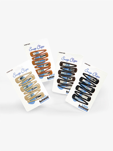 Hair Snap Clips - Style No BH460