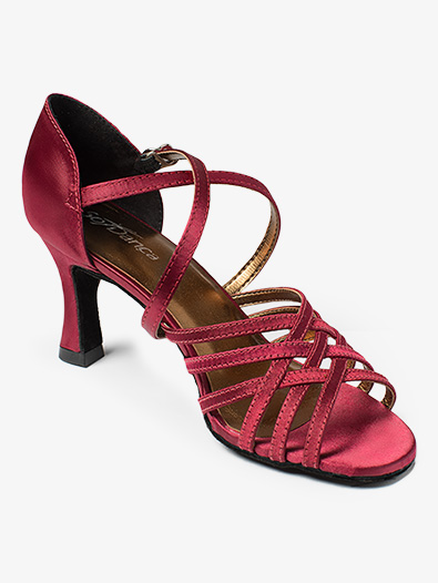 Womens ''Rachel'' 2.5'' Strappy Ballroom Shoes - Style No BL178