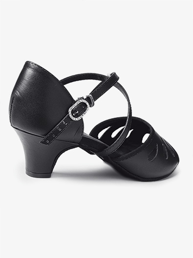 Womens ''Radison'' 1.5'' Open Toe Ballroom Shoes - Style No BL182