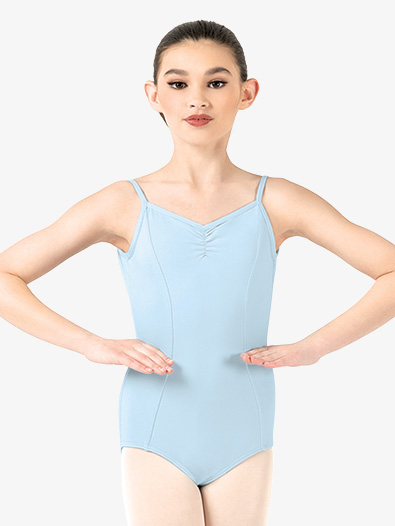 Girls Pinch Front Compression Camisole Leotard - Style No BT5170C
