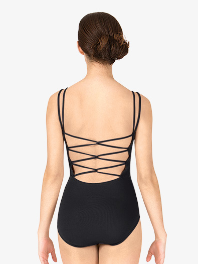 Adult Spaghetti Strap Back Camisole Leotard - Style No BT5173