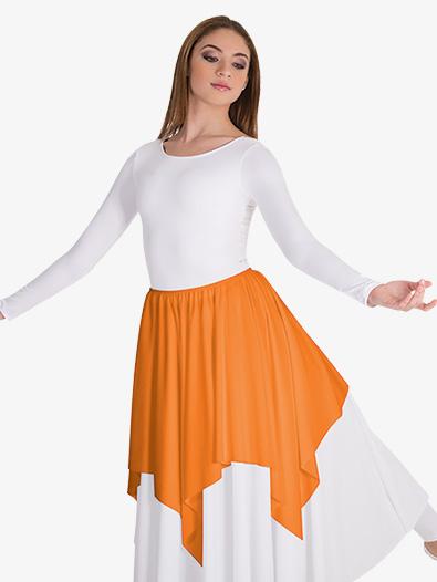 Girls Convertible Skirt & Shoulder Worship Drape - Style No BW0600