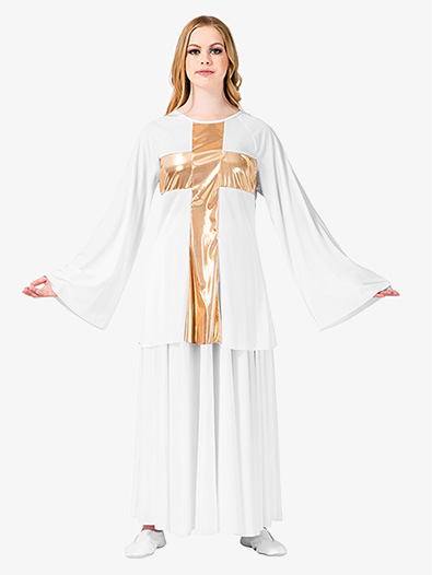 Womens' Worship Cross Pullover - Style No BW621