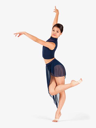Asymmetrical Drape Dance Skirt Tutus Amp Skirts Body