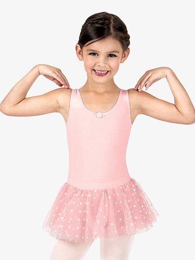 Girls Polka Dot Tank Tutu Dress - Style No C28480