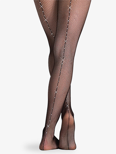 Child Rhinestone Tights - Style No C64
