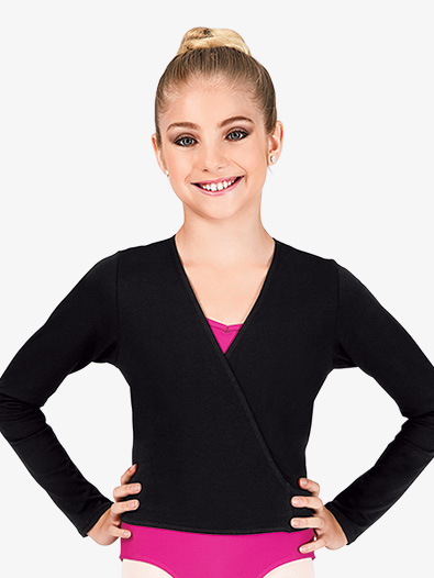 Girls Warm-Up Wrap Top - Style No CC850C