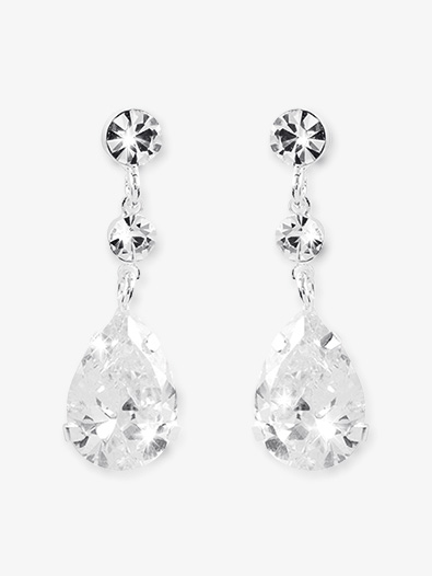 Crystal Drop Earrings - Style No CDE